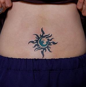 Sun & Moon & Star Tribal
