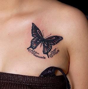 Butterfly & Lettering