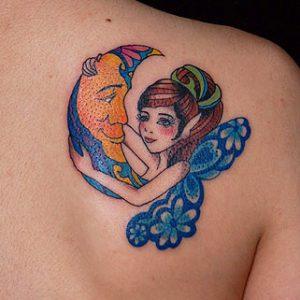 Fairy & Moon